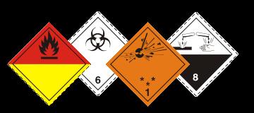 veszélyes áru szállítása